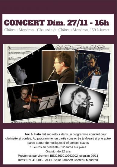 Affiche concert 27 11